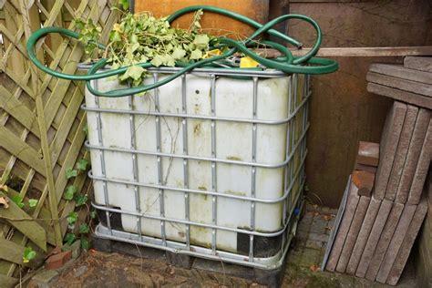 Regentonnen Test  Wasserspeicher Für Den Garten