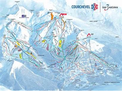 Courchevel Piste Map Tania Valleys Skiing 2021