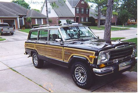 1989 jeep grand wagoneer uncwagoneer 1989 jeep grand wagoneer specs photos