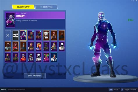Fortnite halloween skins in 2017 became the rarest skins in. Leaked Galaxy Skin Could be Part of a New Starter Pack ...