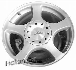 """2000-2004 Ford Mustang wheels Machined Argent Silver. 16"""" rims 3549"""