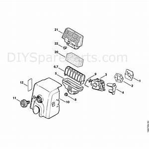 Stihl 025 Chainsaw  025  Parts Diagram  Air Filter