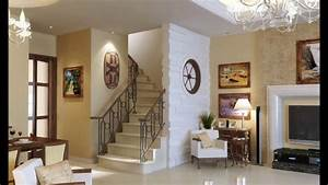 living room stairs home design ideas youtube With living room design with stairs