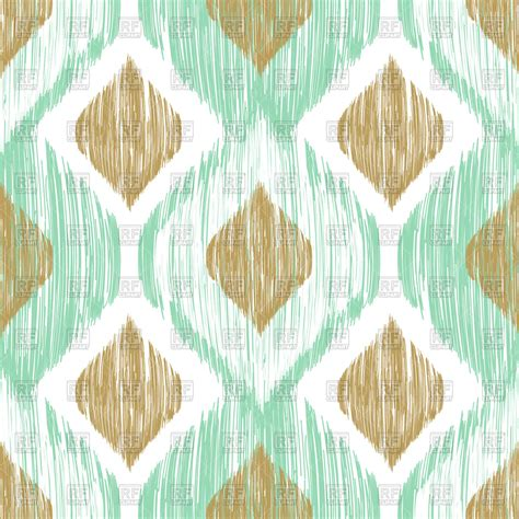 What Is Ethnic Background Seamless Ikat Ethnic Background Vector Image 96900