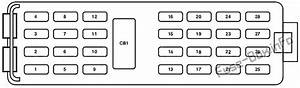 Fuse Box Diagram  U0026gt  Mercury Mountaineer  2006