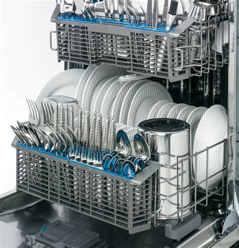 gdfssfss ge stainless steel interior dishwasher  front controls stainless steel
