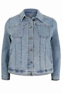 Light Blue Denim Jacket Plus size 16 to 32