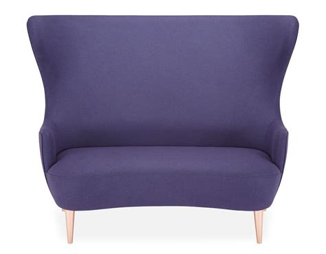 Wingback Loveseat by Wingback 2 Seat Sofa Hivemodern