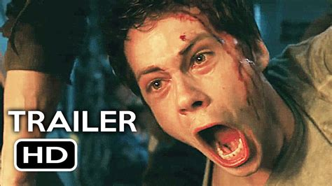 dylan o brien movies 2018 maze runner 3 the death cure official trailer 2 2018