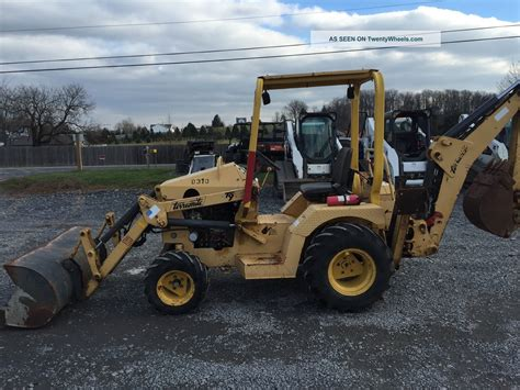 Terramite T9 Compact Tractor Loader Backhoe W/ Kubota Diesel
