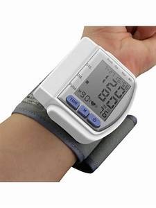 24  Off  2020 Portable Household Digital Lcd Wrist Blood