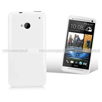 housse htc one m7 coque htc one m7 801e silicone gel housse blanche