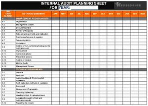iso audit schedule sample pictures to pin on pinterest With internal audit schedule template