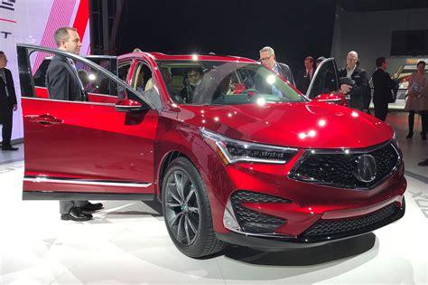 Acura And Honda by Acura Rdx Prototype At 2018 Detroit Motor Show Car Magazine