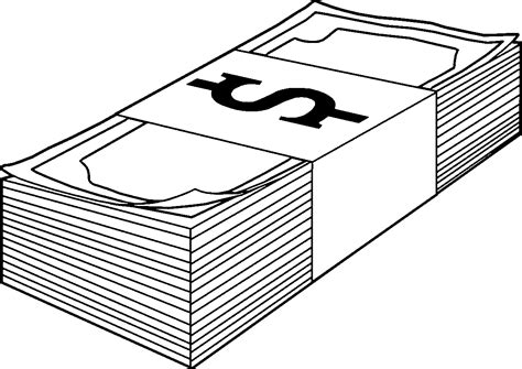 money clipart black and white money clipart black and white pencil and in color money