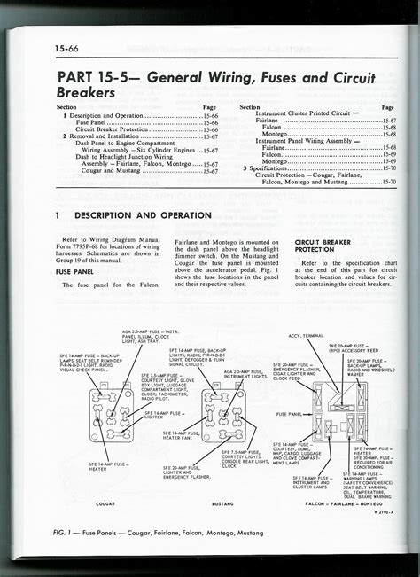 similiar ford mustang fuse diagram keywords 1965 ford mustang fuse box diagram on 1967 ford mustang fuse box
