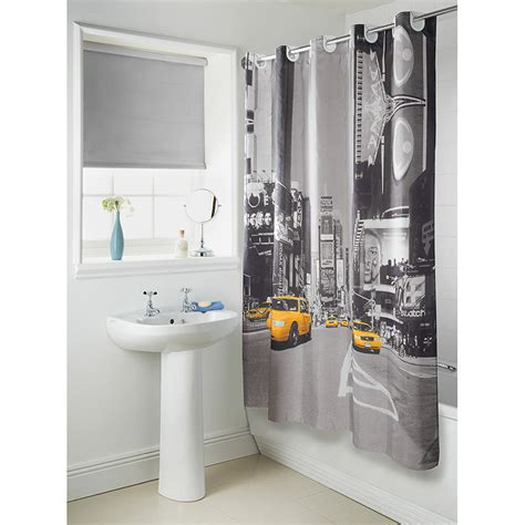 b m gt hookless new york cityscape shower curtain 3039341