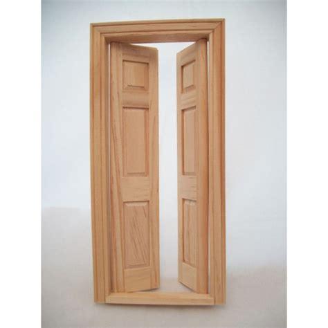 wooden panel walls door split interior dollhouse miniature wooden 6031 1
