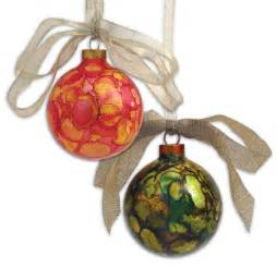 adirondack 174 alcohol ink holiday ornaments ranger ink and innovative craft products