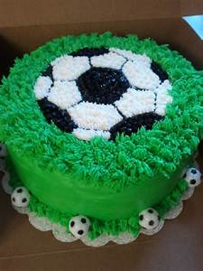 Soccer Themed Cake - CakeCentral com