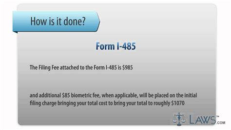 learn how to fill the form i 485 application to register