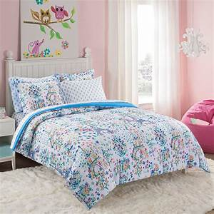 Your, Zone, Floral, Paris, Bed-in-bag, Set, Full