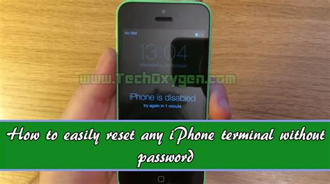 how to reset iphone without computer iphone how to reset disabled iphone 4s or 5
