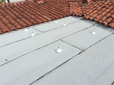 dibiten torch into a clay tile roof yelp