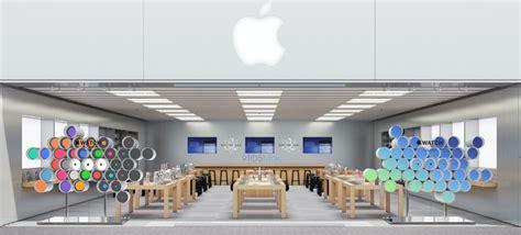 huge apple window display coming local