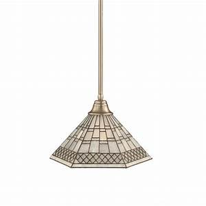 Filament design atwood light brushed nickel pendant with