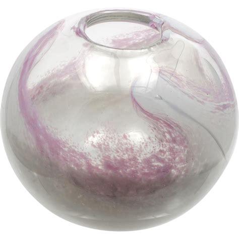 pink glass vase randsfjordglass pink glass vase torgersen