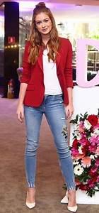 Calu00e7a com detalheeee | Looks lindos | Pinterest | Calu00e7a Blazer vermelho e Ruy barbosa