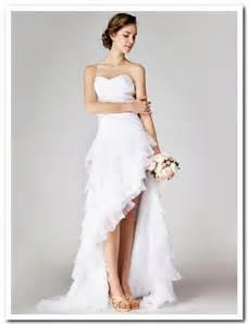 wedding dresses high low plus size high low wedding dresses dresses trend