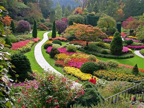 quot butchart gardens bc in the fall quot by