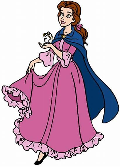 Disney Clipart Belle Princess Clip Princesses Cliparts