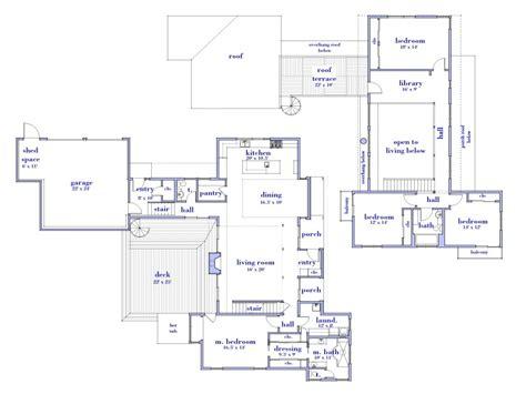 simple modern house floor plans simple small modern house plans