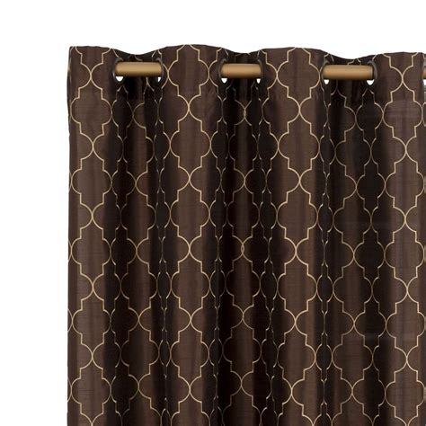 stylemaster hudson grommet top curtain panel panels
