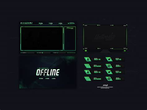cs  stream overlay  psd freebie supply