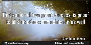 That some achie... Great Achiever Quotes