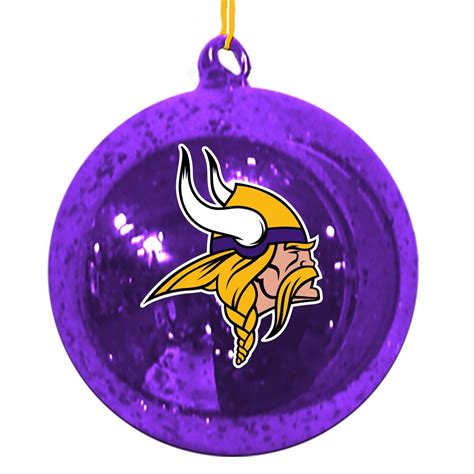 minnesota vikings christmas tree ornaments christmas