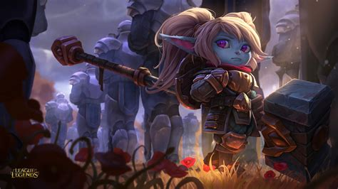 Did You There Is A League Of Legends Anime And New Poppy Splash