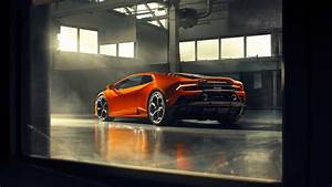 Lamborghini Huracan EVO 2019 4K 2 Wallpaper HD Car