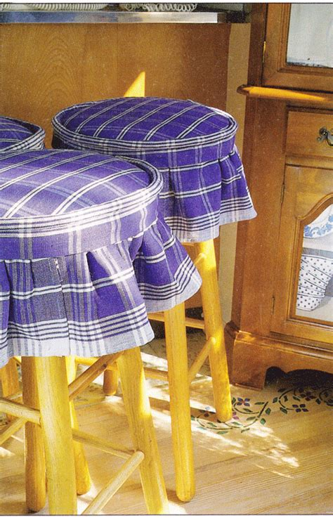 sew kitchen stool covers    style
