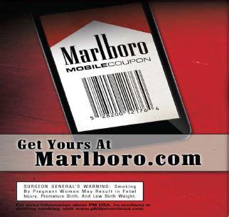 marlboro mobile mobile coupon signup tobacco