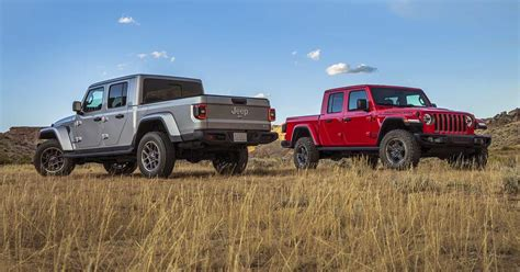 2020 Jeep Gladiator Vs. Pickup Trucks From Chevy, Ford