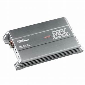 Mtx Rt602  Rt602  360w 2 Channel Class A  B Car Amplifier