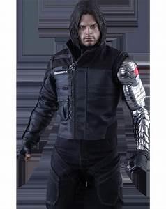 Civil War Winter Soldier Bucky Barnes Jacket
