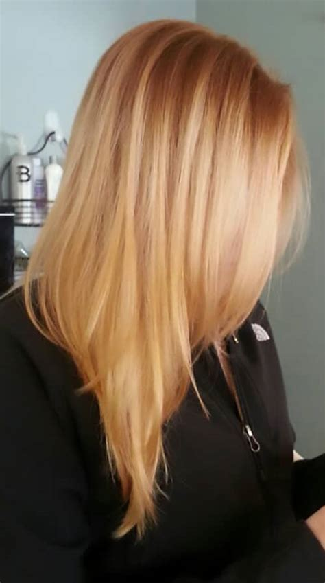 trendy strawberry blonde hair colors