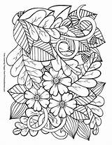 Coloring Fall Leaves Printable Adult Acorns Ebook Mandalas Adults Sheets Primarygames Pdf Mandala Colorear Autumn Leaf Blogx Colouring Adultos Imprimir sketch template
