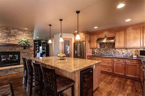 Kitchen Gas Fireplace - co kitchen and fireplace reno hometalk